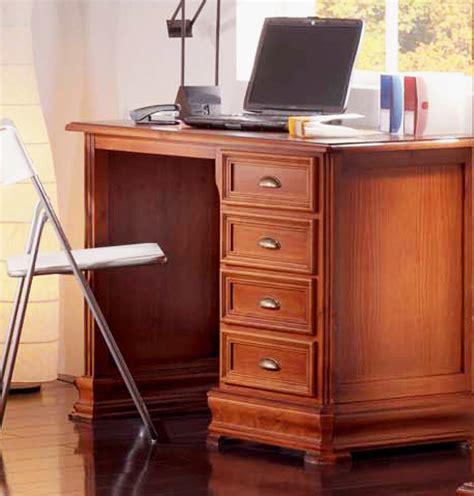 mesa escritorio clasica mesa escritorio estilo cl 225 sico en madera maciza de pino