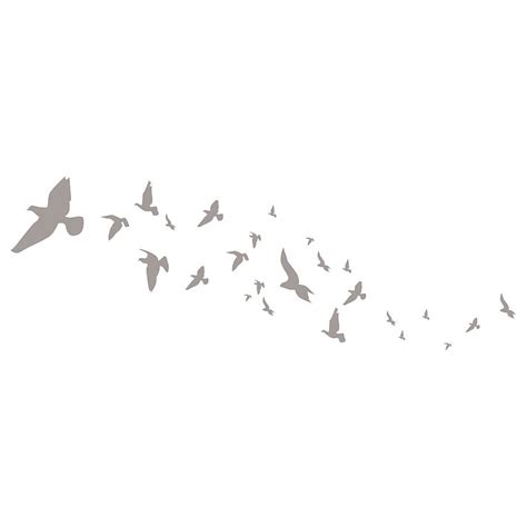 flying bird wall stickers flying birds wall stickers by spin collective
