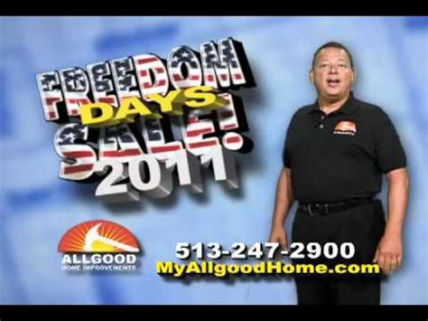 allgood home improvement freedom days sale
