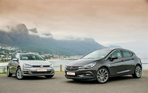 Comparative Review Opel Astra Vs Volkswagen Golf 7 Cars