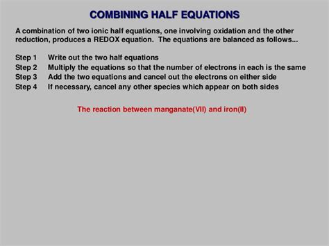 Sle Resignation Letter Family Reason by 2012 Topic 09 Oxidation And Reduction Reactions
