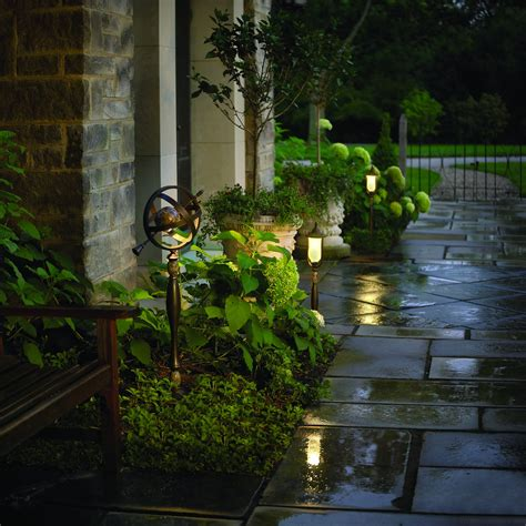 Yard Light Fixtures Outdoor Lighting Tips For Portland Oregon By Glasscock Landscape East West