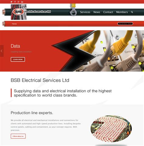 Bsb Address Lookup Bsb Electrical Website Launches Bsb Electrical Services Ltd