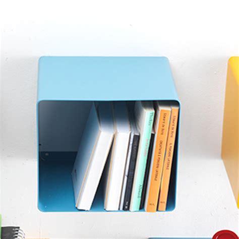 mensole metallo design mensola design cubo biciok in metallo verniciato 22x35x22