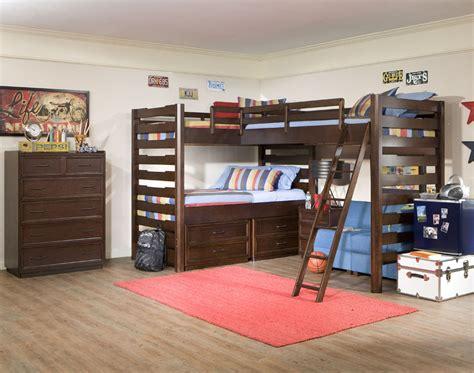 splashy triple bunk beds decoration ideas  kids
