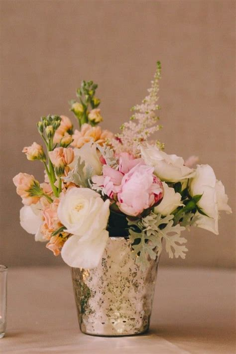 Vase Wedding Centerpieces by Diy Mercury Glass Centerpiece Vases For Your Rustic Chic