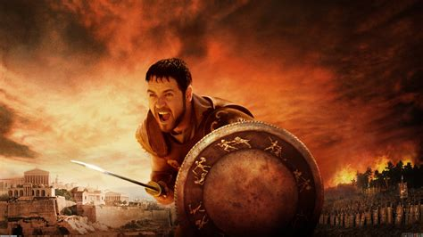 gladiator film background music russell crowe gladiator wallpaper 935 open walls