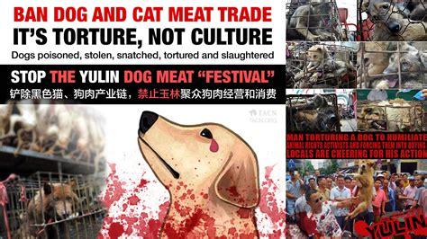 yulin festival petition 183 chen wu shut the yulin festival 183 change org