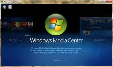windows media center in windows 7 chapter 1 the world of windows