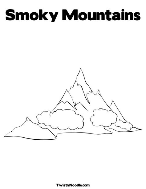 Mountain Pictures Mountains Coloring Page Mountain Coloring Pages