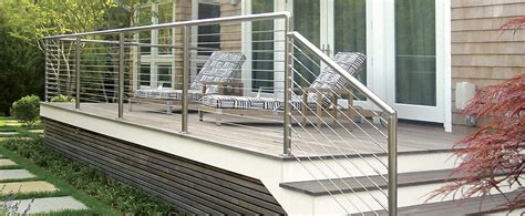 Stainless Steel Deck Railing Atlantis Rail Systems Cable Railing Cable Rail Cable