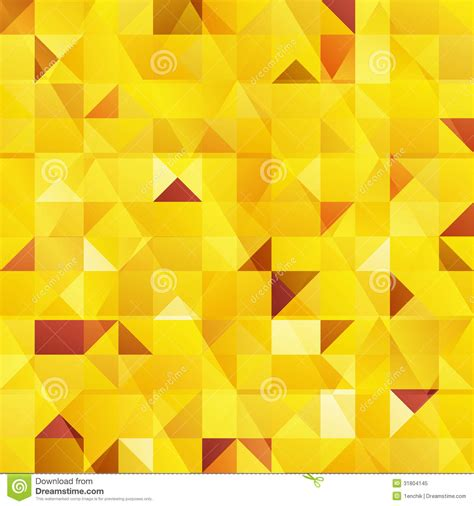 triangle pattern yellow yellow vector abstract triangles seamless pattern royalty