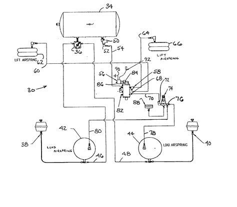 lift axle air valve diagram lift free engine