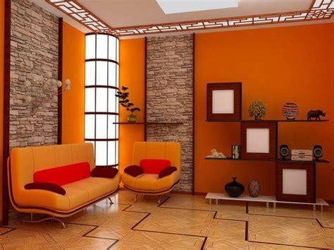 orange wohnzimmer 63 kreative ideen f 252 r wandfarben kombinationen archzine net