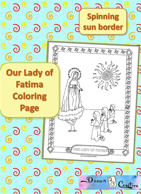 The Miracle Of Our Of Fatima Free Our Of Fatima Coloring Page Free Printable Drawn2bcreative