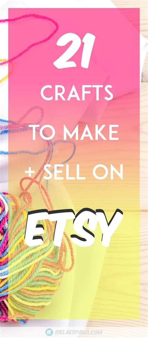 1000 ideas about crafts to sell on handmade