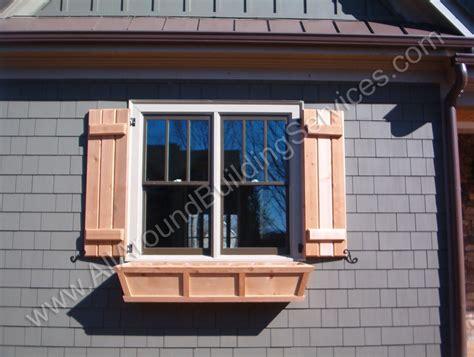 cedar shutters