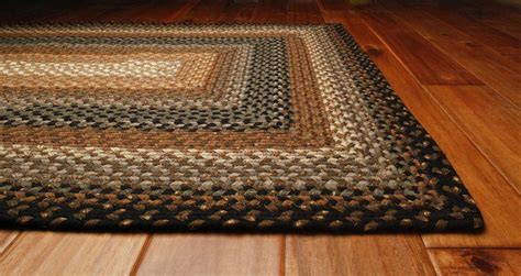 braided floor rugs homespice decor cotton braided oval black area rug hococoabean