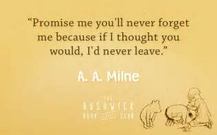 10 quotes from a a milne and winnie the pooh
