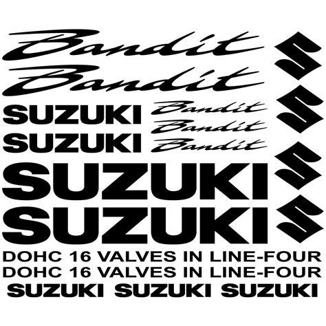 Felgenaufkleber Bandit by Wandtattoos Folies Suzuki Bandit Aufkleber Set