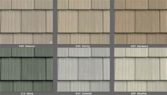 Cedar Shake Siding Vinyl Vinyl Siding Perfection Shingle Like Real Cedar 34 Colors