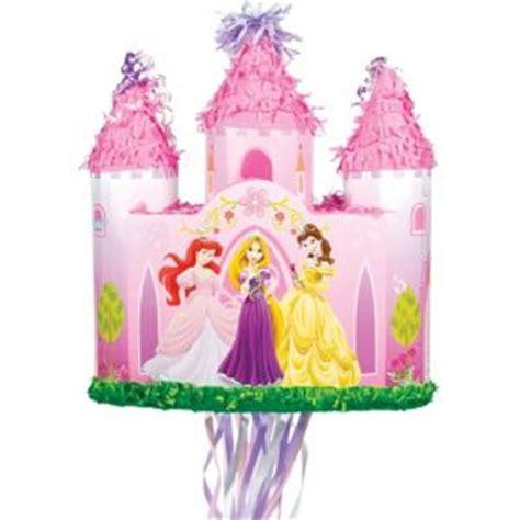 Pinata Princess 1 pull string disney princess castle pinata 16in x 15 1 2in