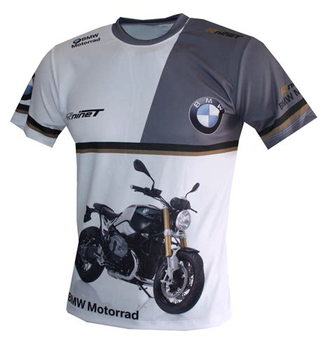 T Shirt Nine bmw r ninet t shirt with logo and all printed picture