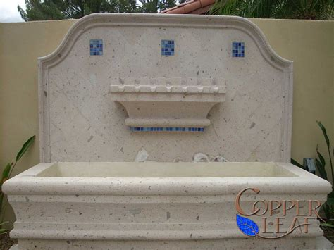 Cantera Water Fountains Exterior Gorgeous Layers