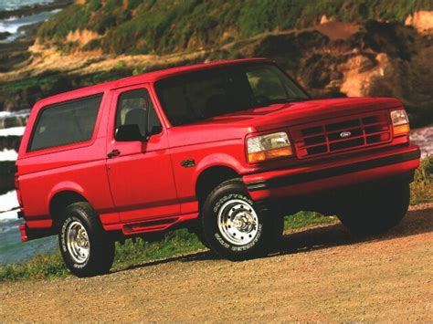 bronco car 1996 1996 ford bronco reviews specs and prices cars com