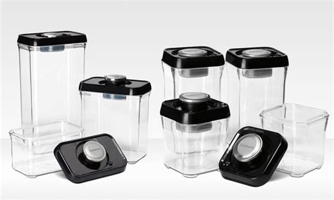 Vacuum Sealed Food Shelf by Cuisinart Vacuum Seal Food Storage Set Groupon