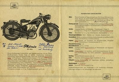 125ccm Motorrad Typen by Motormobilia Ph 246 Nix Motorrad Prospekt Typ 125ccm 4