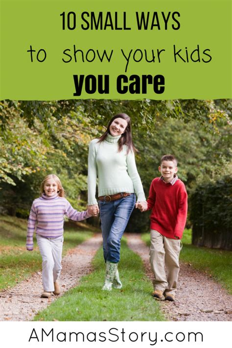 10 Ways To Show Your by 10 Small Ways To Show Your You Care