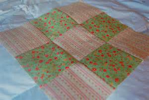 how to make a nine patch quilt block
