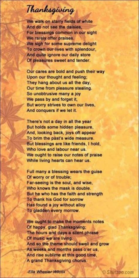 thanksgiving poems  quotes quotesgram