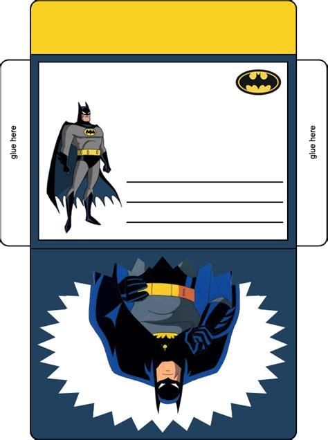 Batman Birthday Card Printable Batman Birthday Party Envelope In Color Batman Birthday