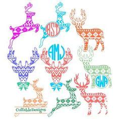 christmas pattern coreldraw sparkle christmas tree monogram cuttable design cut file