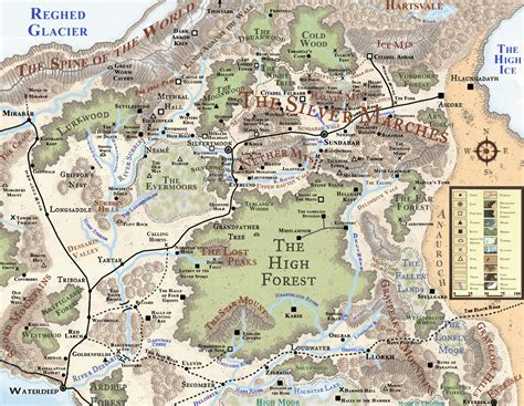 forgotten realms map silver marches by markustay on deviantart forgotten realms region maps