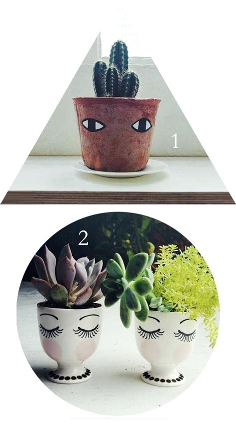 flower pots with faces on them garden pots with faces exhort me