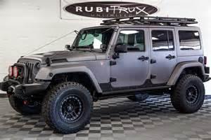 Jeep Unlimited Rubicon 2017 Jeep Wrangler Rubicon Unlimited Gray Line X