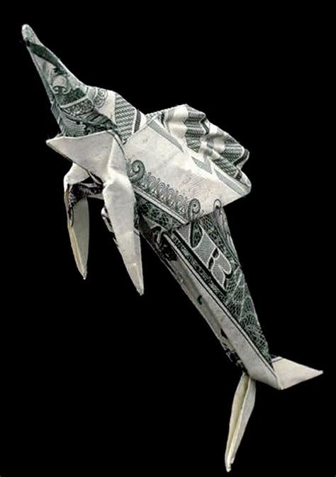 One Dollar Bill Origami - seawayblog 10 origami of aquatic animals folded with 1