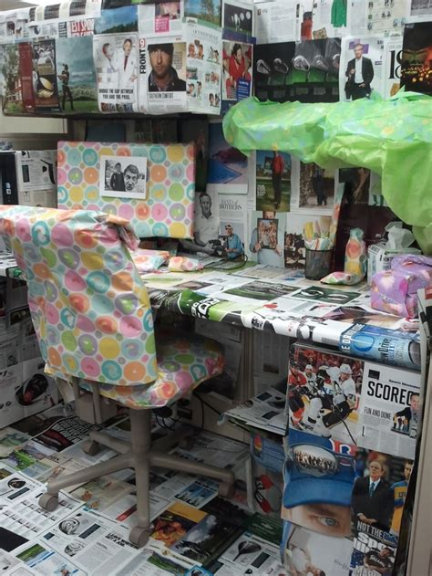 decorating coworkers desk for birthday birthday desk decorations image inspiration of cake and