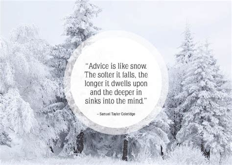quotes about snow and winter quotesgram