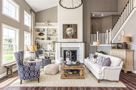 living room great room fireplace  story great