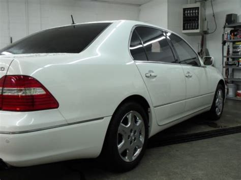 how things work cars 2005 lexus gs transmission control buy used 2005 lexus ls430 pearl white factory chrome wheels excellent condition in paris
