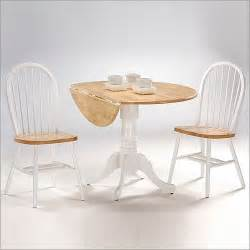 small round dining table with drop leaf gallery