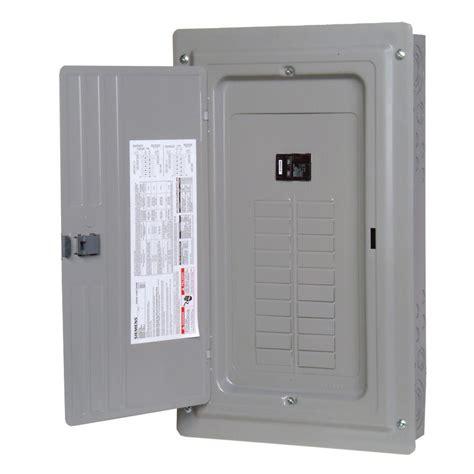 Box Panel Indoor Siemens Es Series 150 24 Space 30 Circuit Breaker