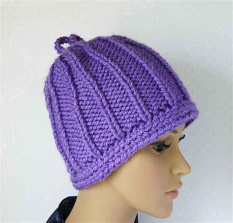 knitting pattern womens hat knitting pattern knit chunky beanie pattern womens knit hats
