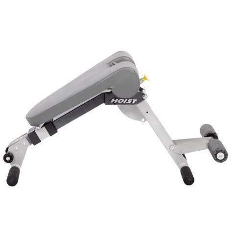 ab back bench hoist 4263 adjustable ab back hyper bench fitness
