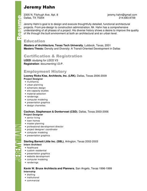 Landscape Architecture Company Profile Resume And Cv