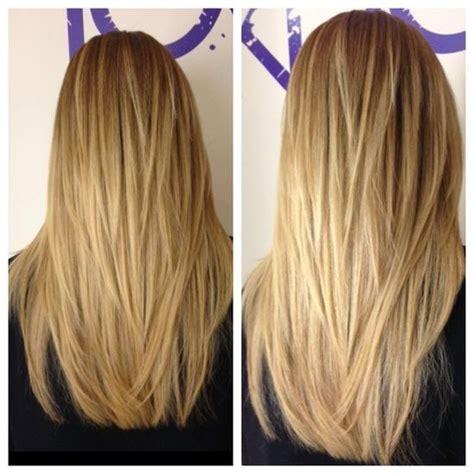 cutting back of hair in v vs straight long straight hair v shape women hairstyles